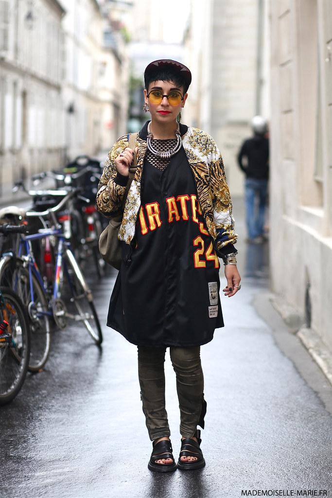 Miranda at Paris Fashion Week Menswear day 4