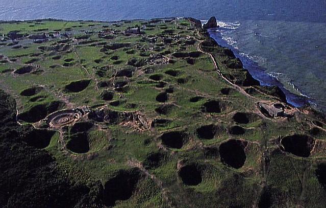 Cratères de la Pointe du hoc