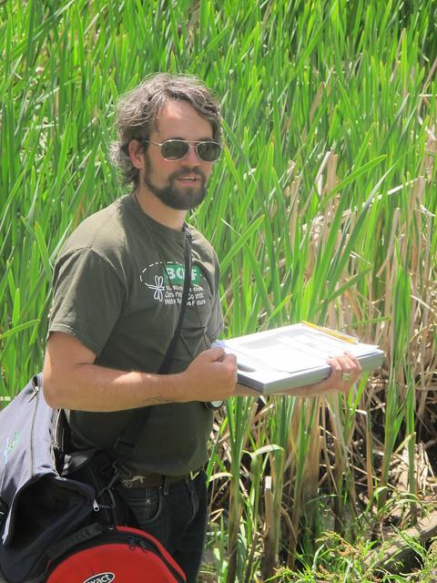 Neil explains the Wetlandkeepers long form survey