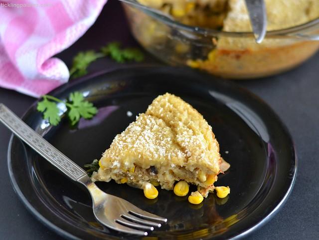 Cheesy Corn Quiche