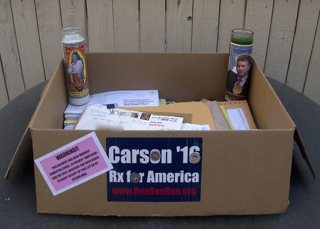 Box o junk mail