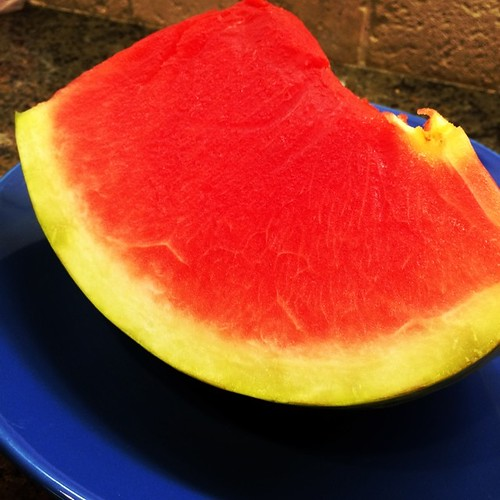 #watermelon a great post workout treat! #cleaneats #refuel #fitness #fitfluential #sweatpink #iambft