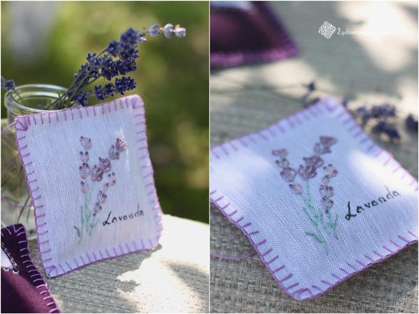 lavender sache