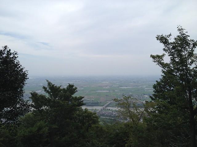 石津御嶽 四合目 展望台からの眺望