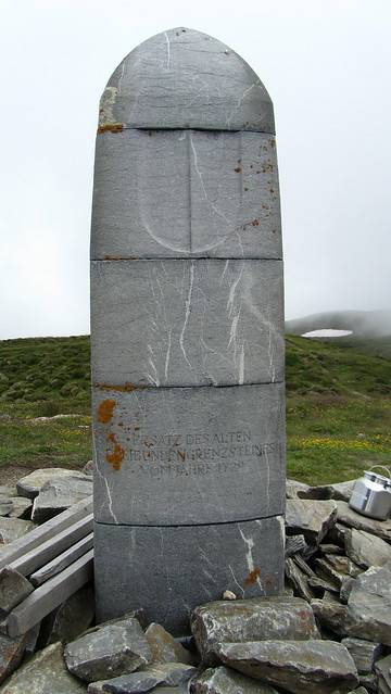 Cairn at Dreibündenstein
