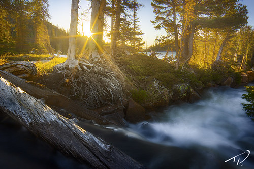 camping mountains beautiful creek sunrise river landscape interesting fishing colorado colorful stream hiking vibrant gorgeous exploring wideangle professional alpine backpacking remote rockymountains majestic exciting northpark secluded sunstar mountzirkelwilderness rainbowlakes tylerporterphotography tporterphotography
