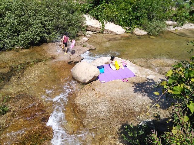 시골집 풍경 | 물놀이