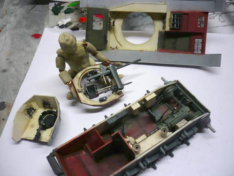 Pz.kpfw.II Ausf.F Kit N°6263 - DRAGON - 1/35 14694132111_f87b4c77fe_o