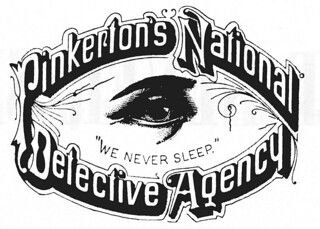 Pinkerton National Detective Agency Logo