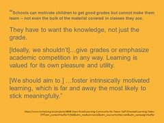 "Educational Postcard: ""#12 - We need learning to stick"""