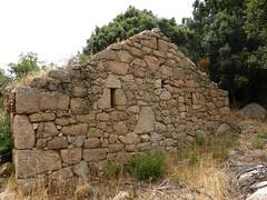 1ère maison de Ghjuncaghjola : la façade latérale droite