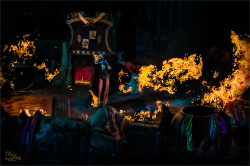 Image from The Eighth Voyage of Sindbad Stunt Show at Universal Studios