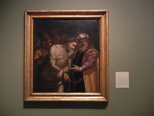 DSCN1156 _ Ecce Homo, early 1570s, Luca Cambiaso, Blandon Museum, Austin