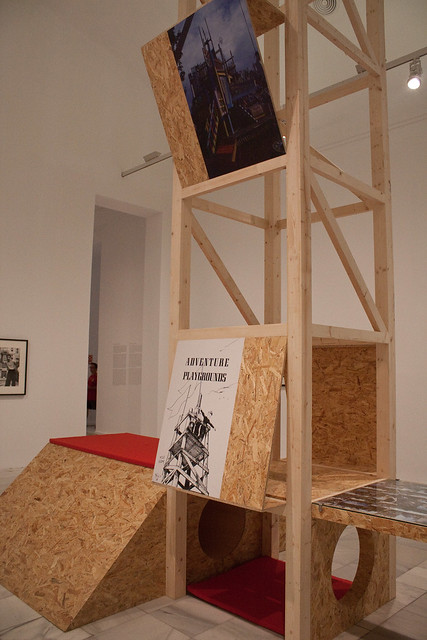 adventure playground reina sofia exhibit