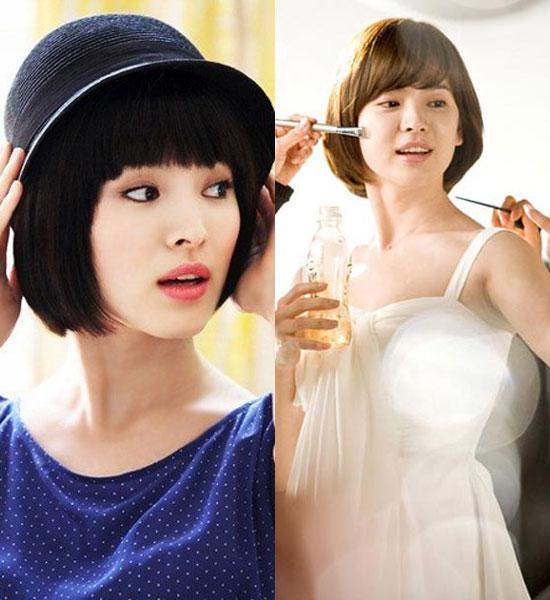 Các kiểu tóc ngắn đẹp! Tóc ngắn ép, uốn xoăn Hàn Quốc 21