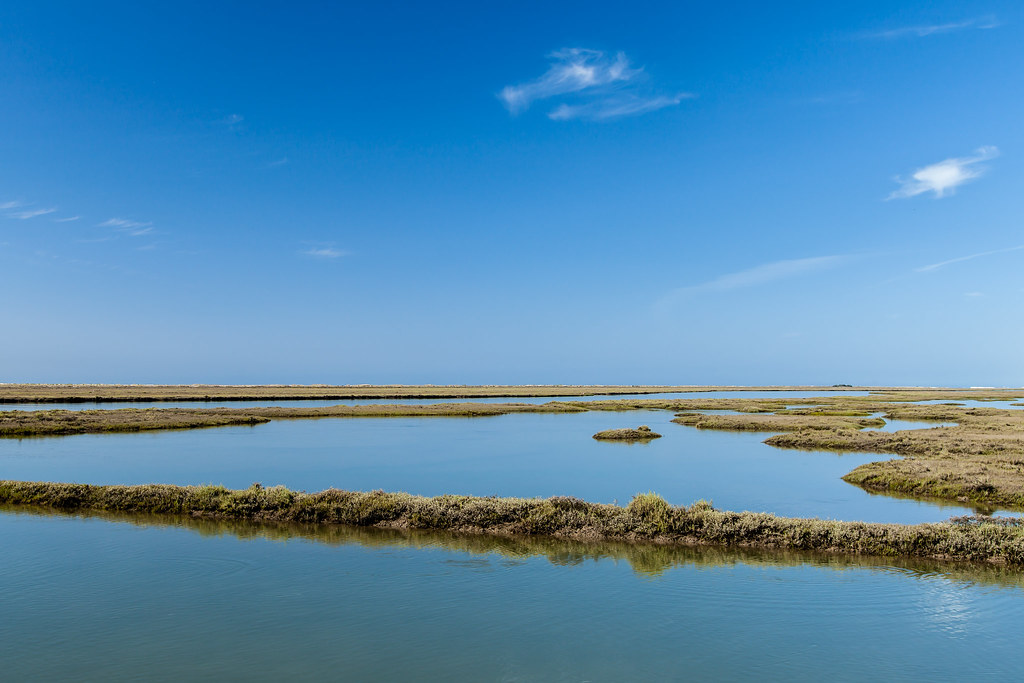 https://www.twin-loc.fr Between Sea and Land near Faro (Isla de Tavira - Santa Luzia), Portugal - Image Picture Photography