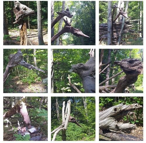 river walk animal sculptures