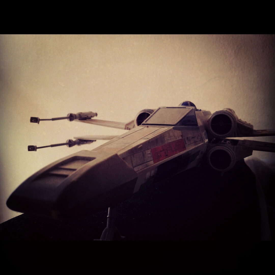 Red 5 standing by! #starwars #actionfigurephotography #anewhope #episodeIV #kenner #geekshavethemostfun