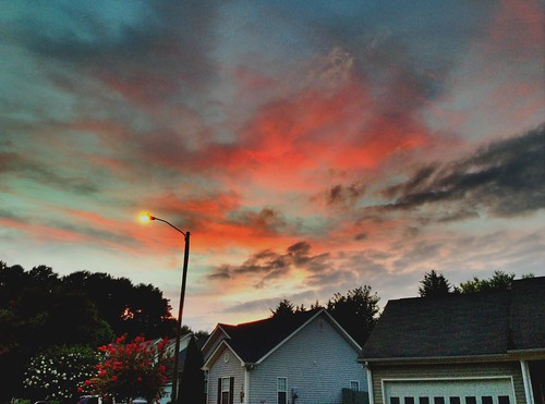 sunset hdr cantonga