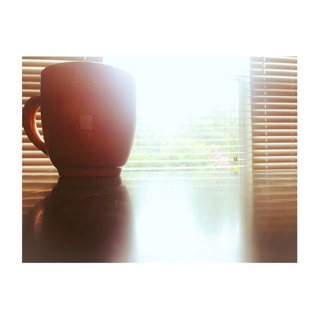 Day 2: Stillness: It's Ben a long week, and this morning, everyone slept in. Pookah included. I woke up and had a cup of coffee. In the quiet of the house. It was heaven. #31stories #vscocam #everydayeyecandy from Flickr via Wylio