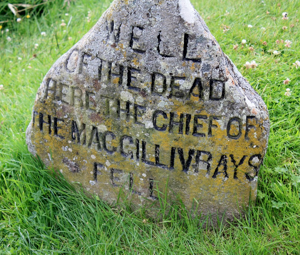 Culloden Stone Markers for Macgillivrays