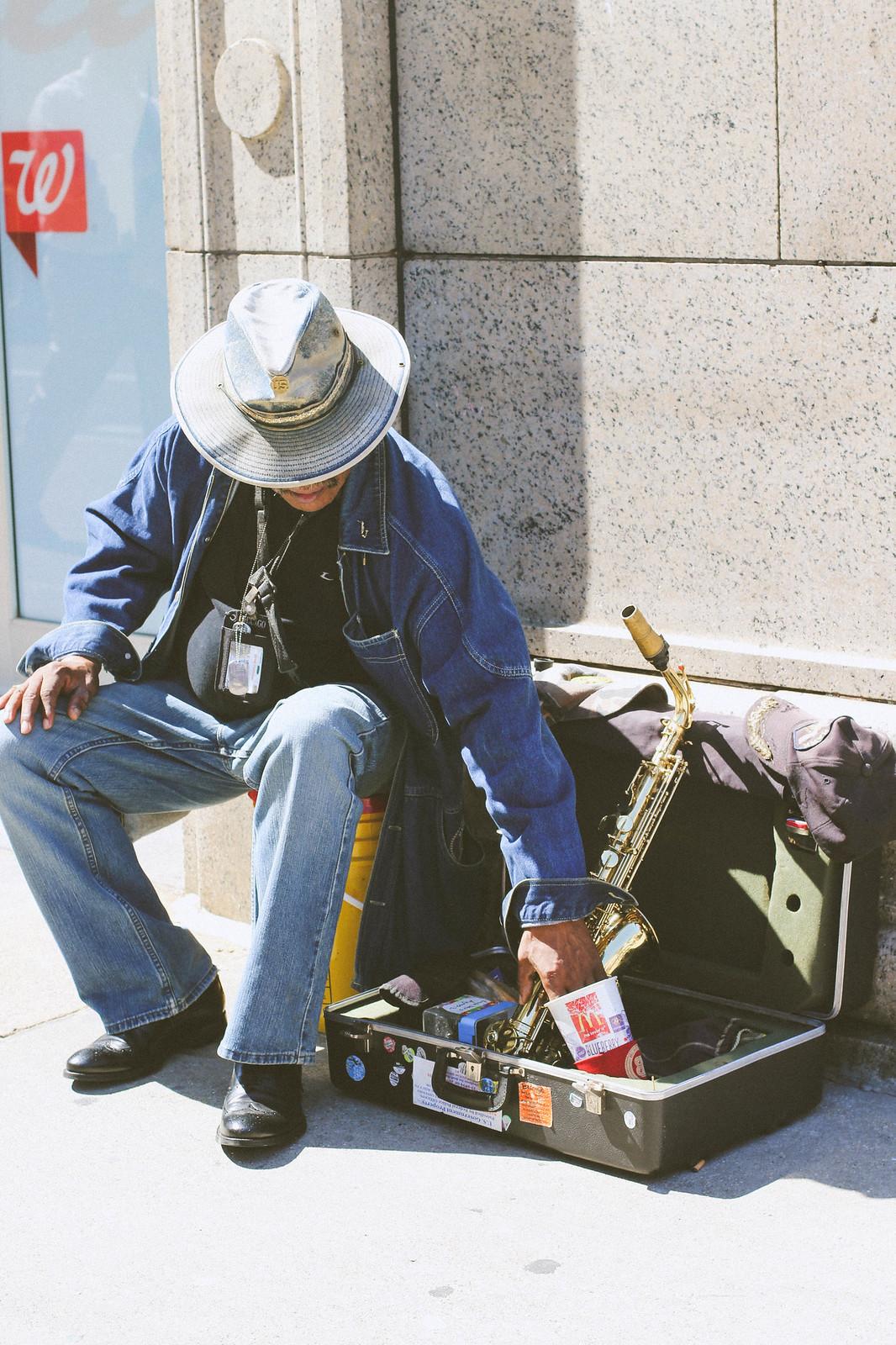 street music.