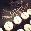 #Oliver #antique #typewriter #QWERTY