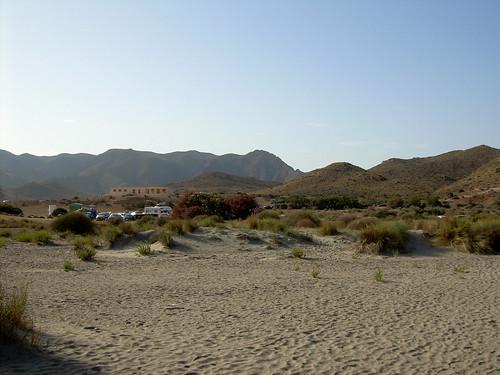 Playa el Mónsul, Almería