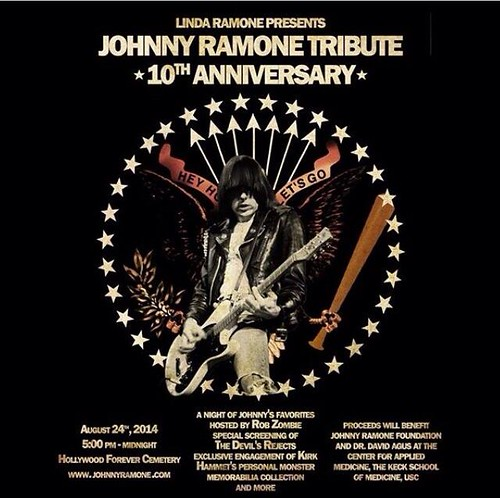 08/24/14 Johnny Ramone Tribute 10th Anniversary @ Hollywood Forever Cemetery, Los Angeles, CA