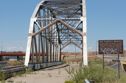 Rio Puerco Bridge - Route 66, New Mexico
