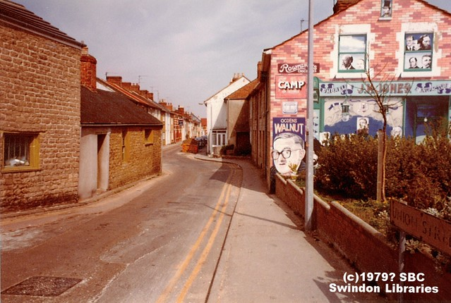 c1979?: Ken White Mural at Union Street, Prospect, Swindon