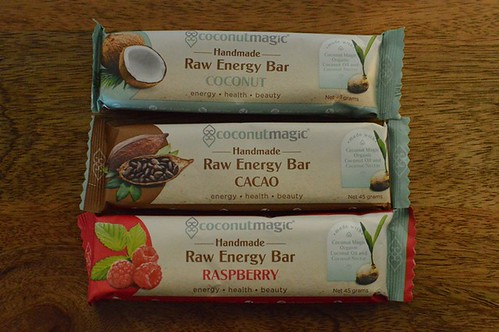 Coconut Magic raw energy bars