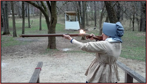 Firing Flintlock