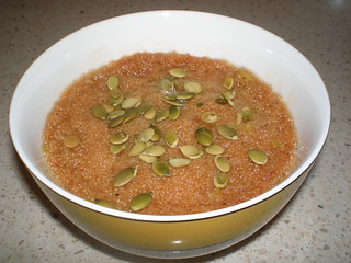 Savoury Amaranth Porridge