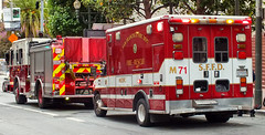 San Francisco FD - Engine 3 & Medic 71