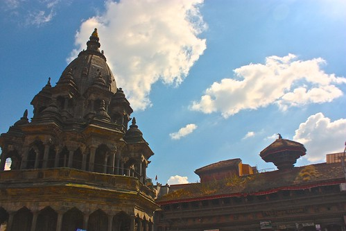 Clouds cast over Durbar Square