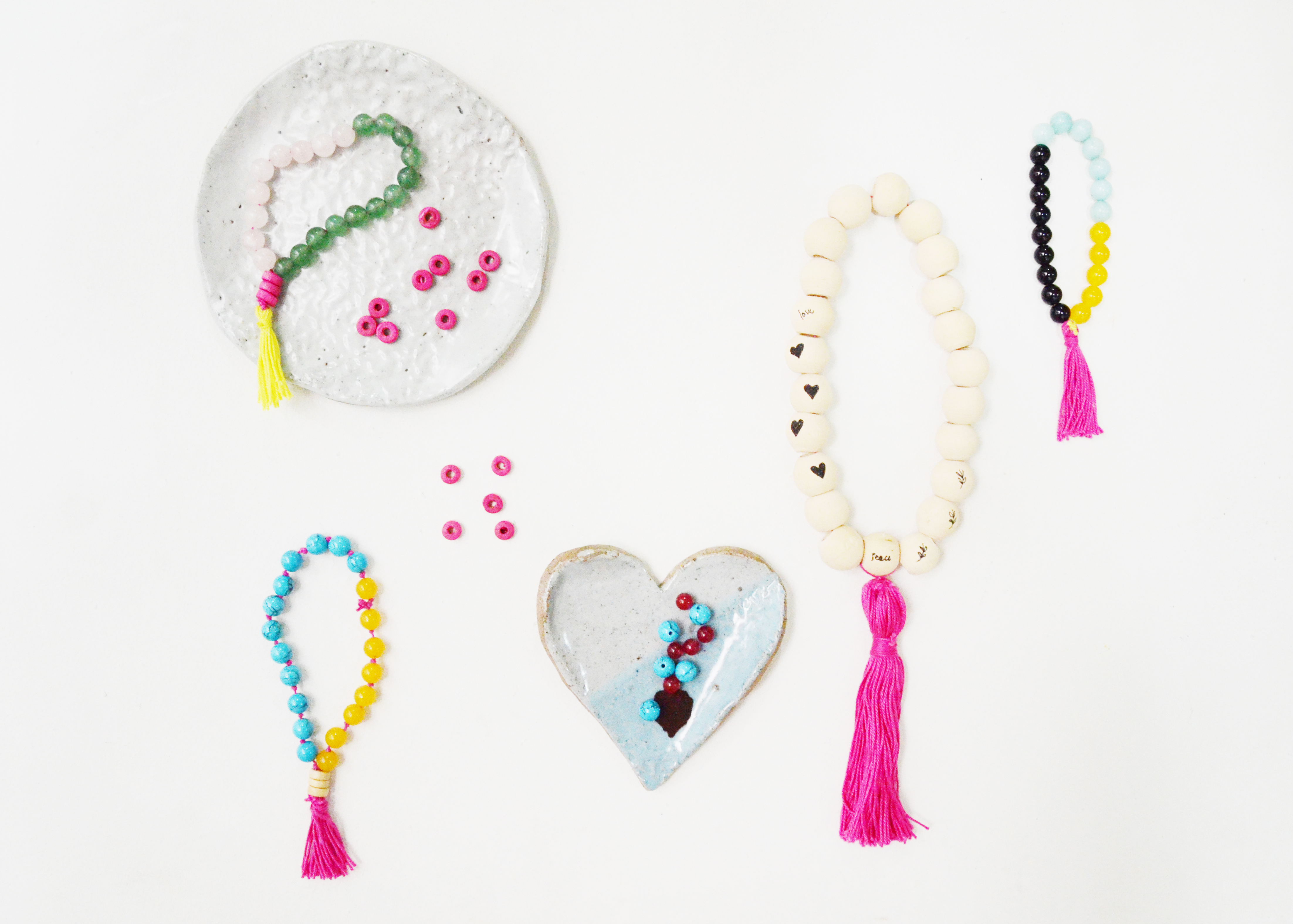DIY Mala Bracelets