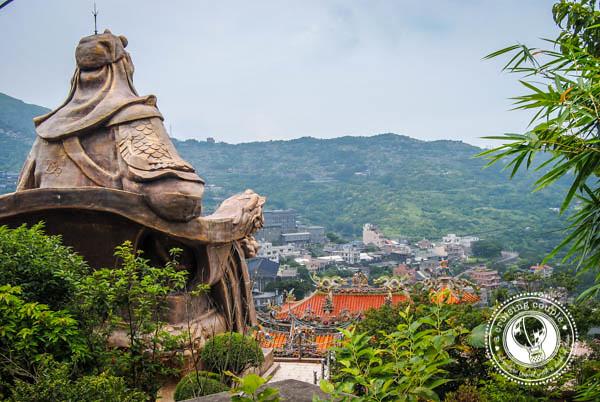 Statue Near Jiufen