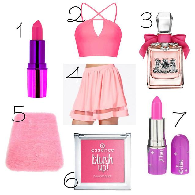 Wishlist #10 Pink