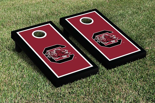 South Carolina Gamecocks Cornhole Game Set Border
