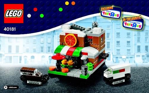 Lego Bricktober 2014 Mini Modular Images Instructions Neoape