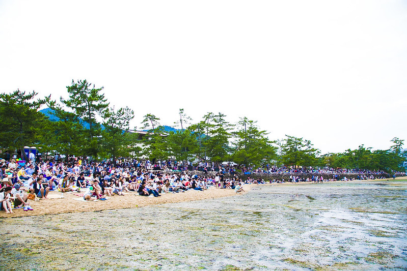 宮島水中花火大会2014Miyajima Water Fireworks Display(大鳥居前)126