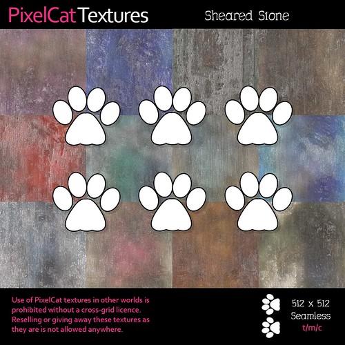 PixelCat Textures - Sheared Stone