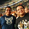 Me and my brother @portalcat at #WWE #SummerSlam 8/17/14 #vscocam