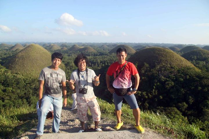 a day's worth of backpacking in bohol