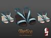 Vertice -  SummerFlat Sandals Celeste