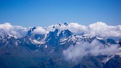Uszba widziana ze Skał Pastuchova 4700m (Elbrus)