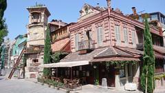 Teatr Rezo Gabriadze przy ul. Szawteli, Tbilisi.