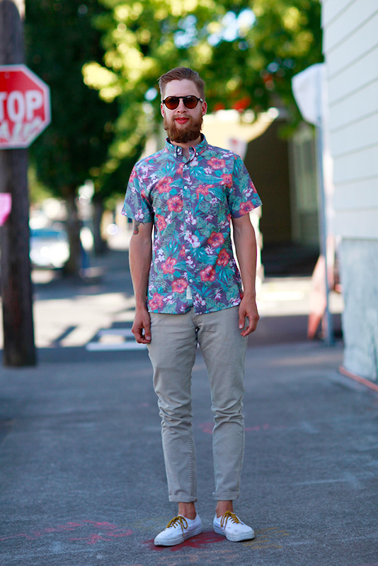 sage brown Portland, Quick Shots, street fashion, street style, men, XOXO