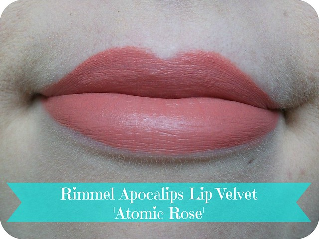 Rimmel Apocalips Lip Velvet Atomic Rose